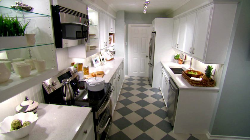 The kitchen redesign is fresh