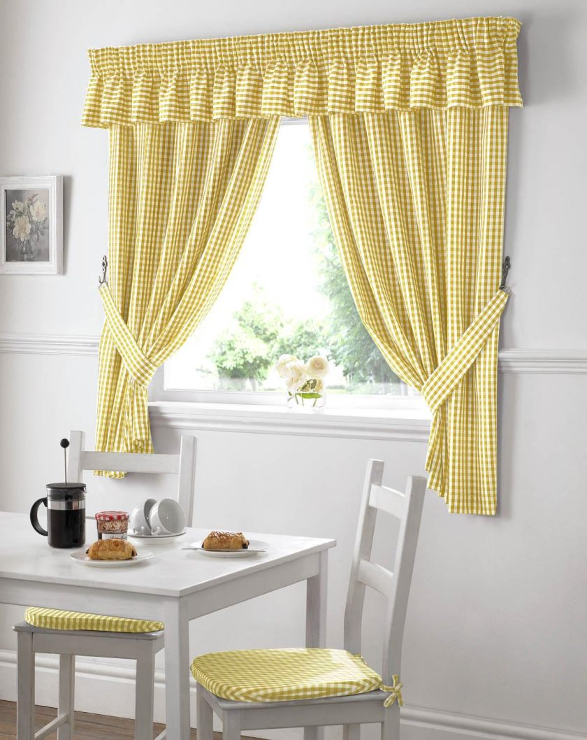 gingham-kitchen-curtains-yellow