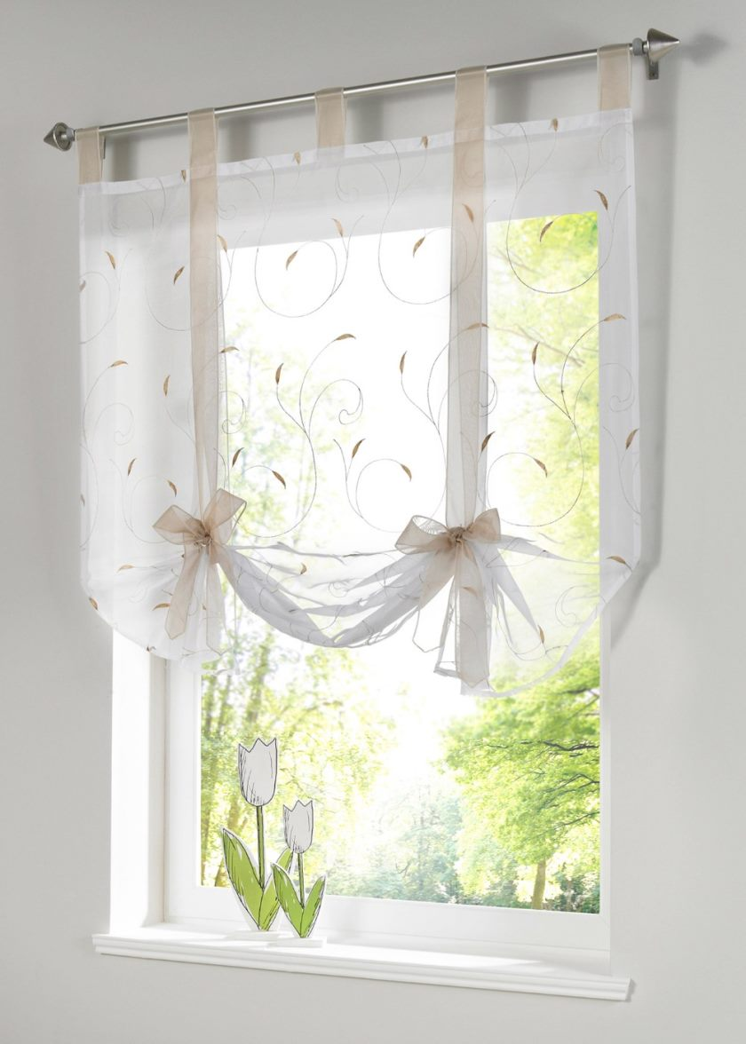 roman-shade-european-embroidery-style-tie-up-window-curtain-kitchen-curtain-semi-sheer-tab-top-window-3