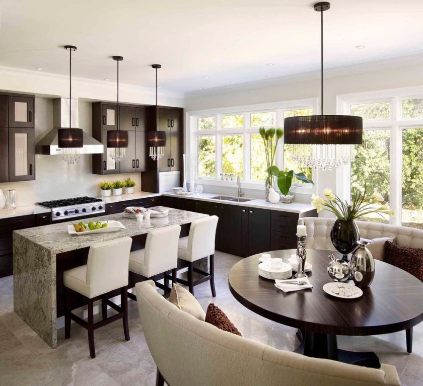 table-kitchen-contemporary-with-ceiling-lighting-breakfast-nook-16