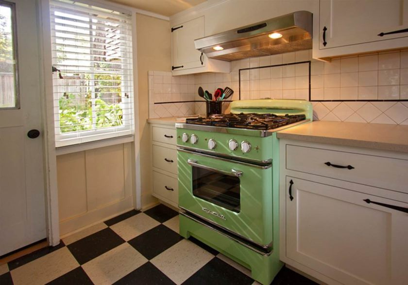 vintage-green-kitchen