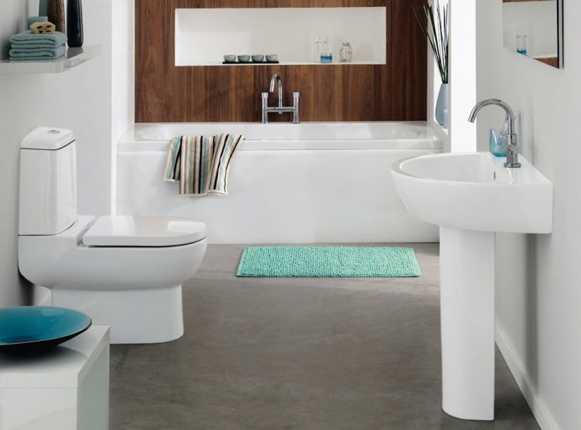 white-teal-and-aqua-marine-bathroom-with-wood-feature