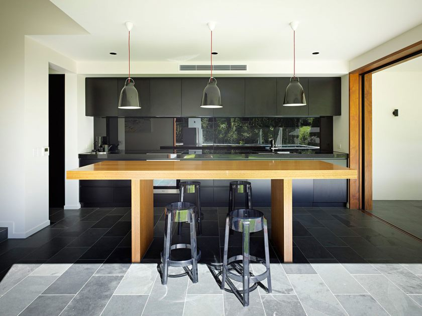 bar-table-for-kitchen-remodelling-modern-black-bar-stools-with-wooden-kitchen-table