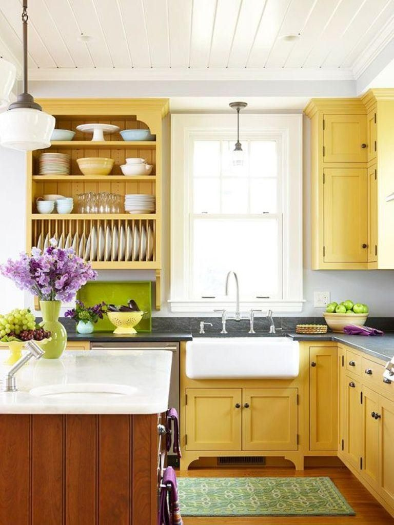 bright-yellow-kitchen