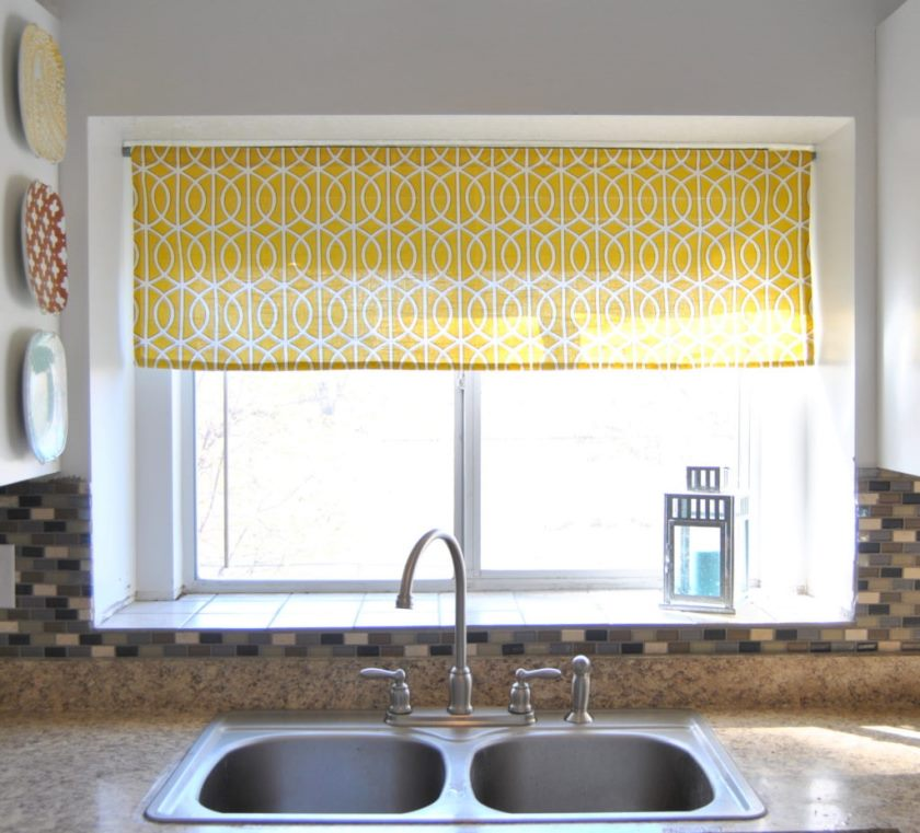 Curtains for kitchen windows 2