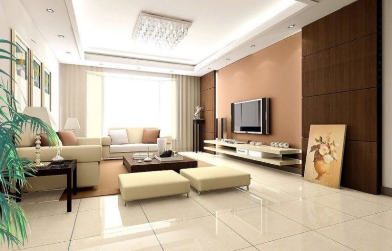 interior-classy-wall-unit-living-room-design-ideas-with-white-peach-wall-paint-colors-and-wall-picture-frames-also