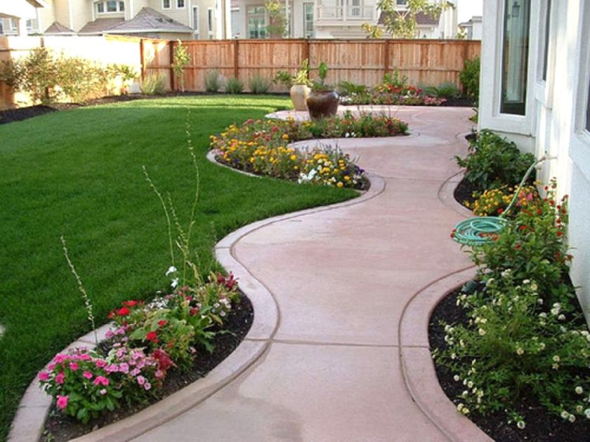 landscaping-ideas-for-front-yard-of-ranch-house-the-garden-inexpensive-garden-ideas-for-front-of-house