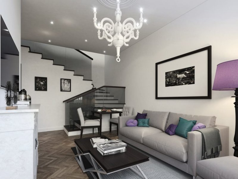 modern-living-room-decor-pictures-white-chandelier88