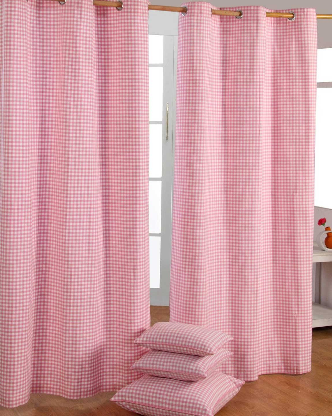 100_-cotton-ready-made-curtains-gingham-check