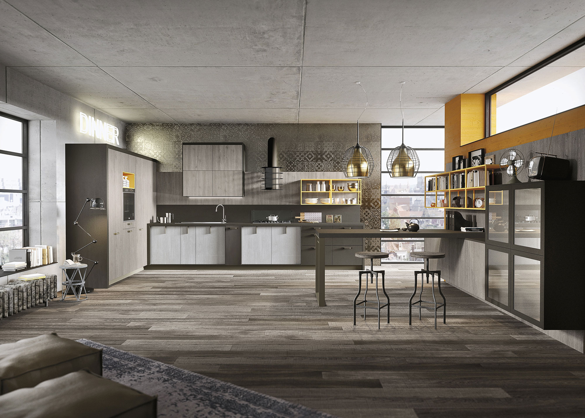18-kitchen-design-lofts-3-urban-ideas-snaidero