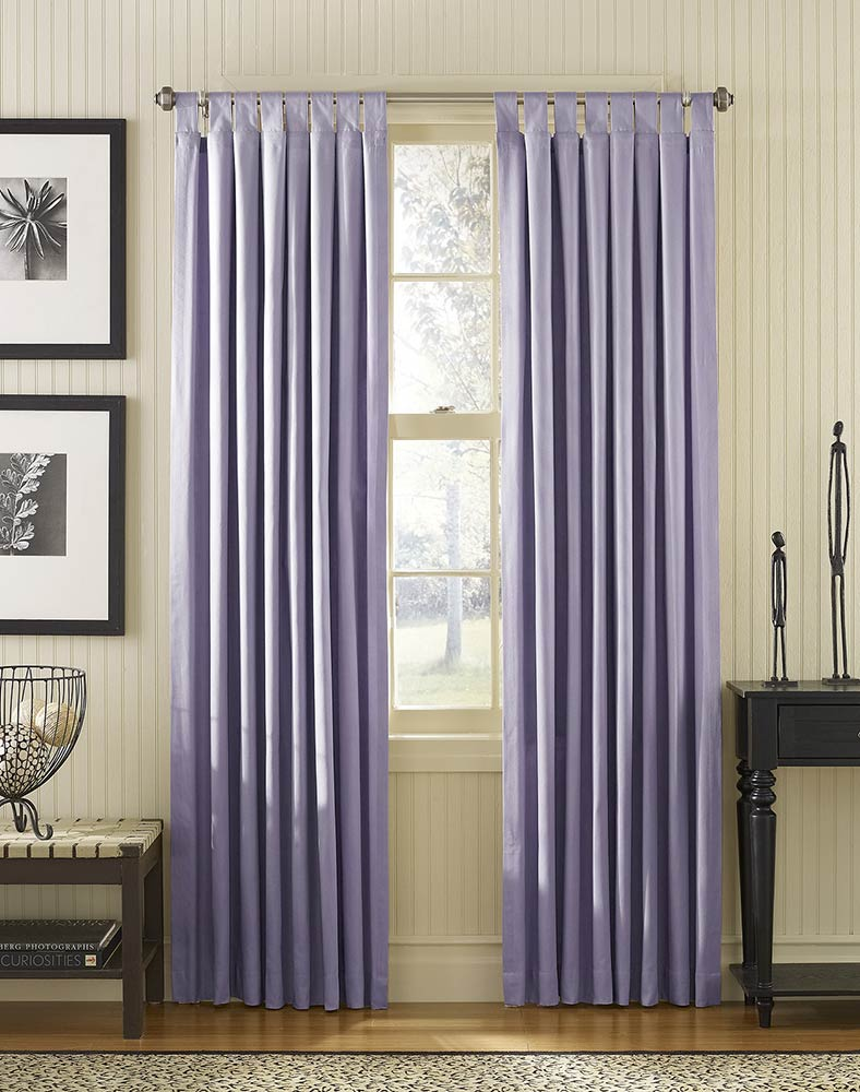 Purple Curtain Ideas For Large Windows Beautiful Interior Decor
