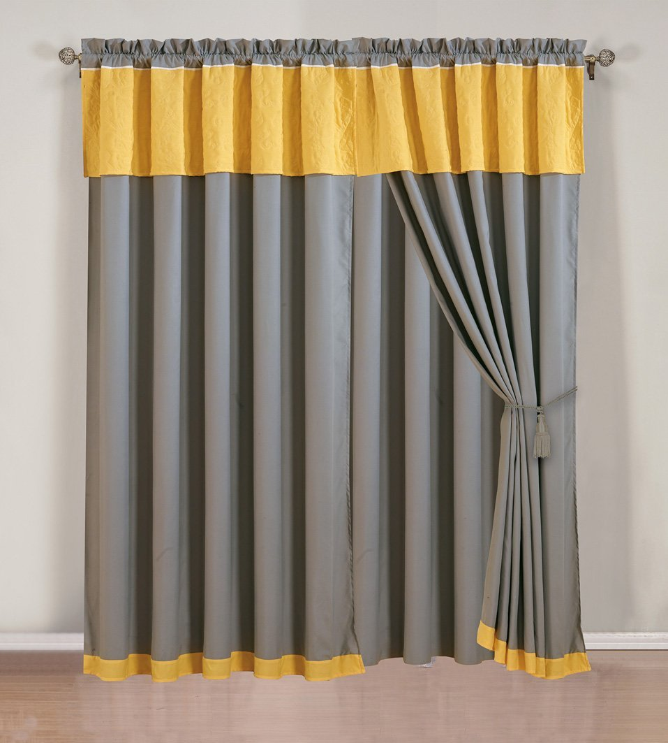4-piece-yellow-grey-white-embroidered-curtain-set-with-attached-valance-and-sheers-5