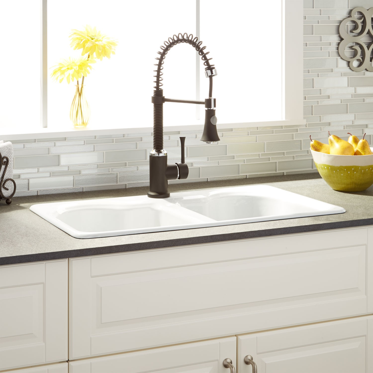 463297-32-double-bowl-cast-iron-drop-in-kitchen-sink