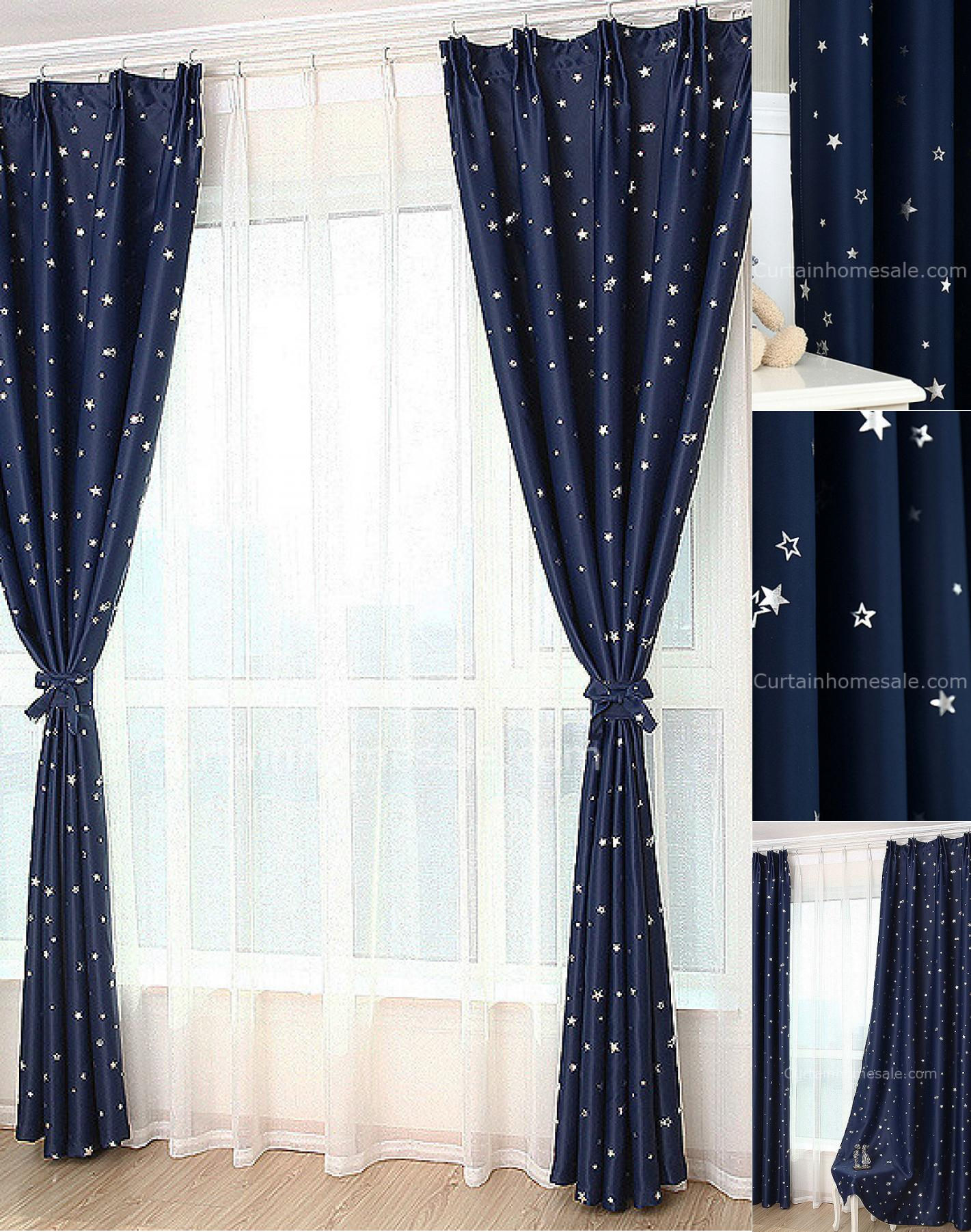 affordable-dark-blue-star-blackout-fiber-antique-chic-curtains-chs791-1-merge