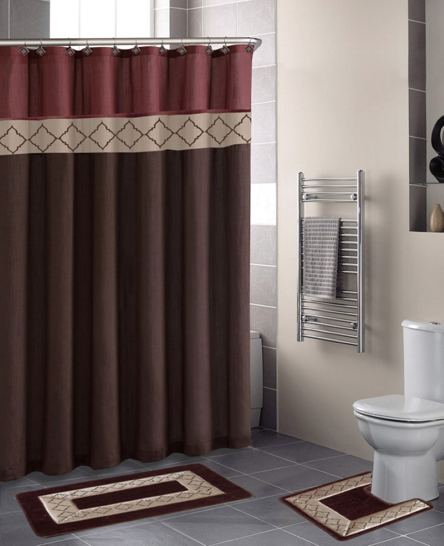 bathroom-curtains-captivating-throw-rugs-feats-with-sweet-modern-bathroom-curtain-with-brown-color-and-large-wall-niche-picture-4-on-cute-modern-bathroom-curtain-on-bathro