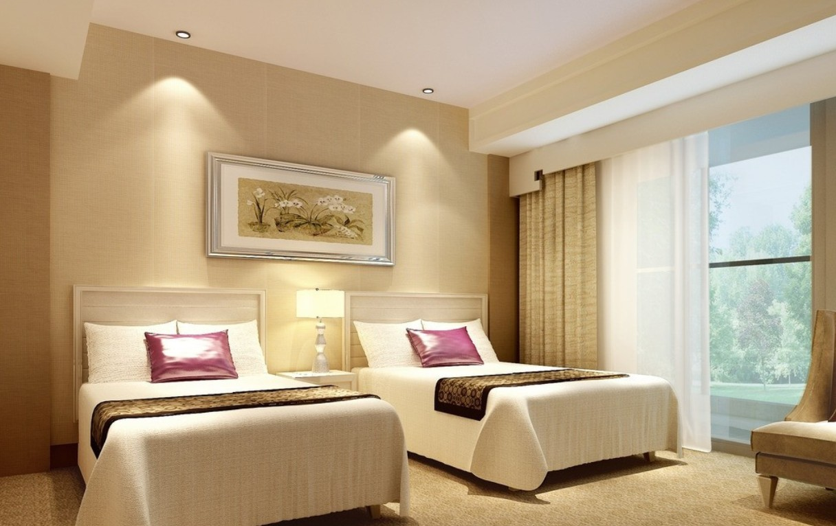 beige-hotel-room-interior