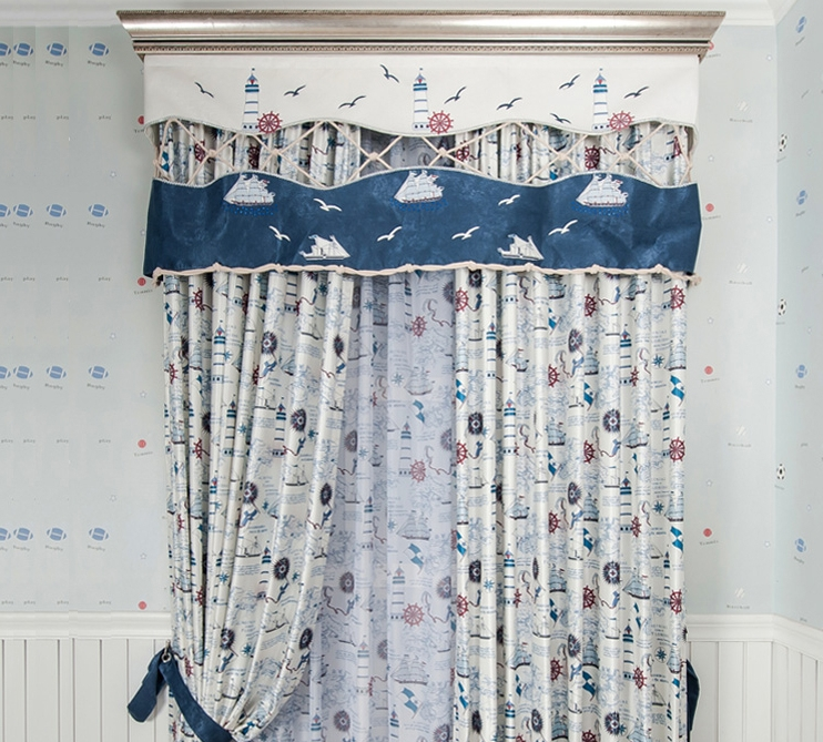 best-quality-shabby-chic-kids-room-boys-room-fabric-nautical-curtains-lhh31550-04