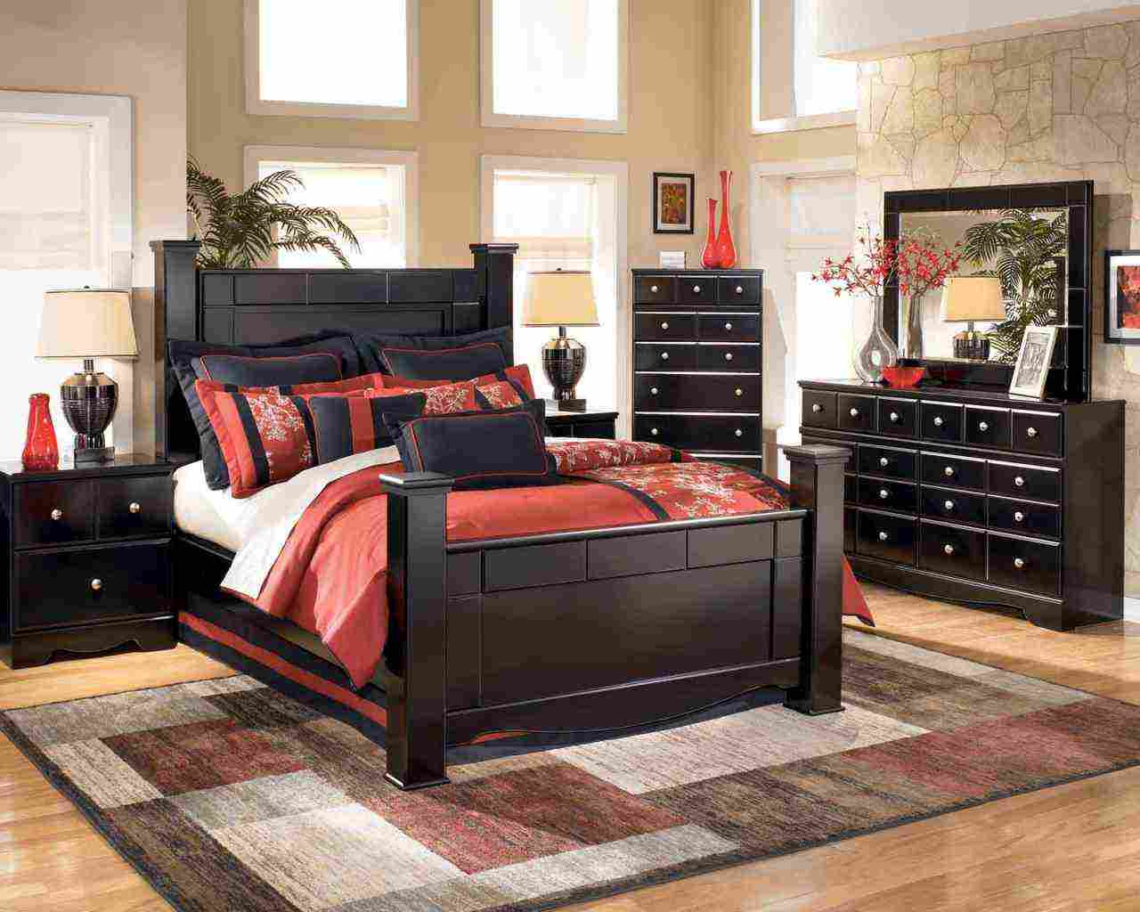 black-wood-bedroom-furniture