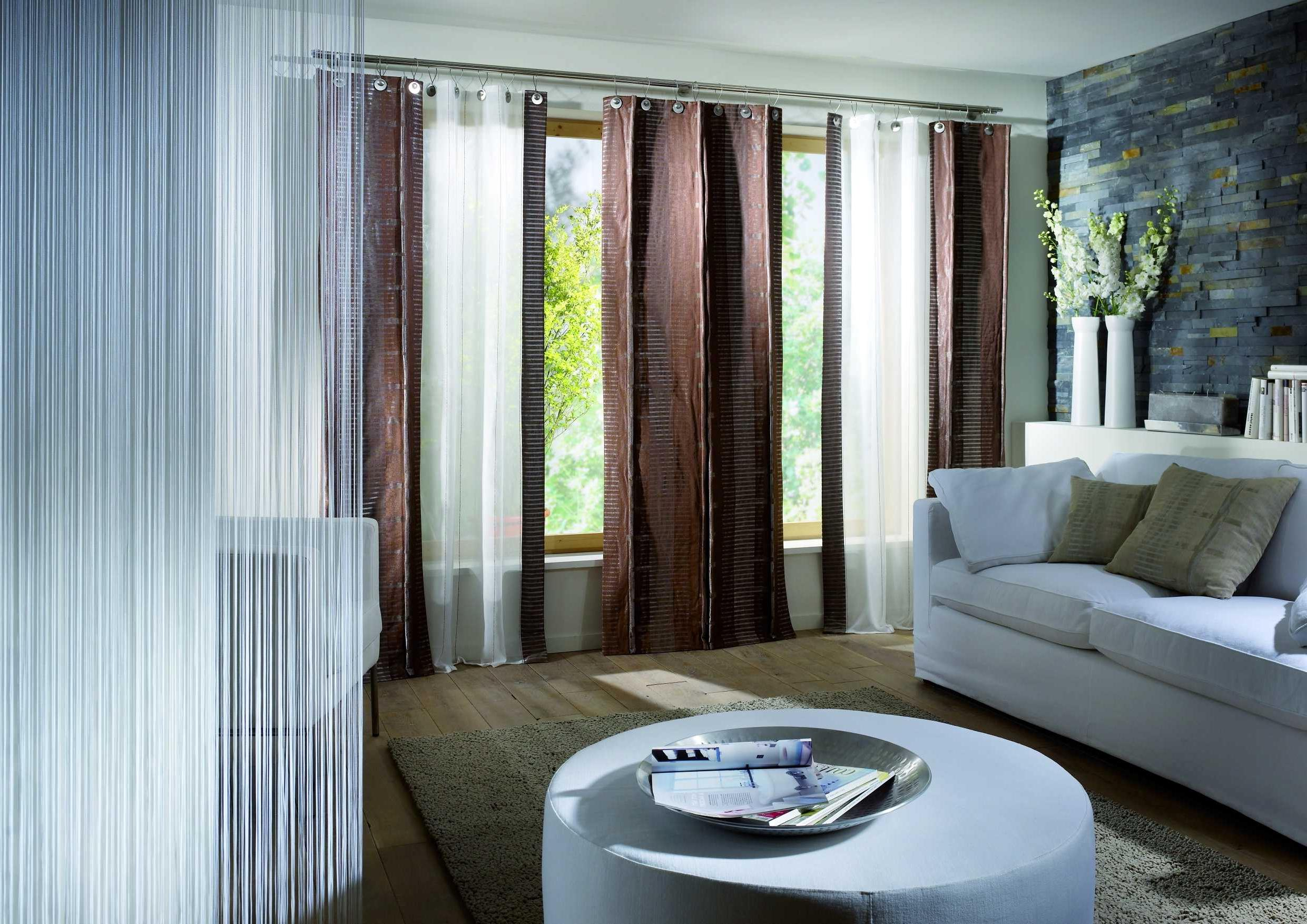 brown-living-room-curtains-and-drapes
