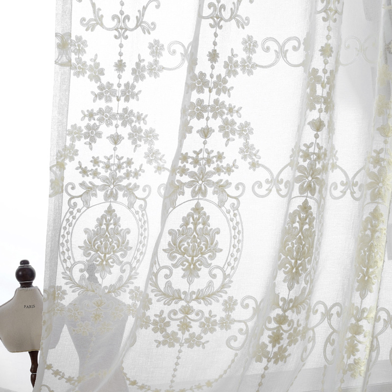 embroidered-sheer-font-b-curtains-b-font-european-palace-designs-beige-window-tulle-home-decor-flower