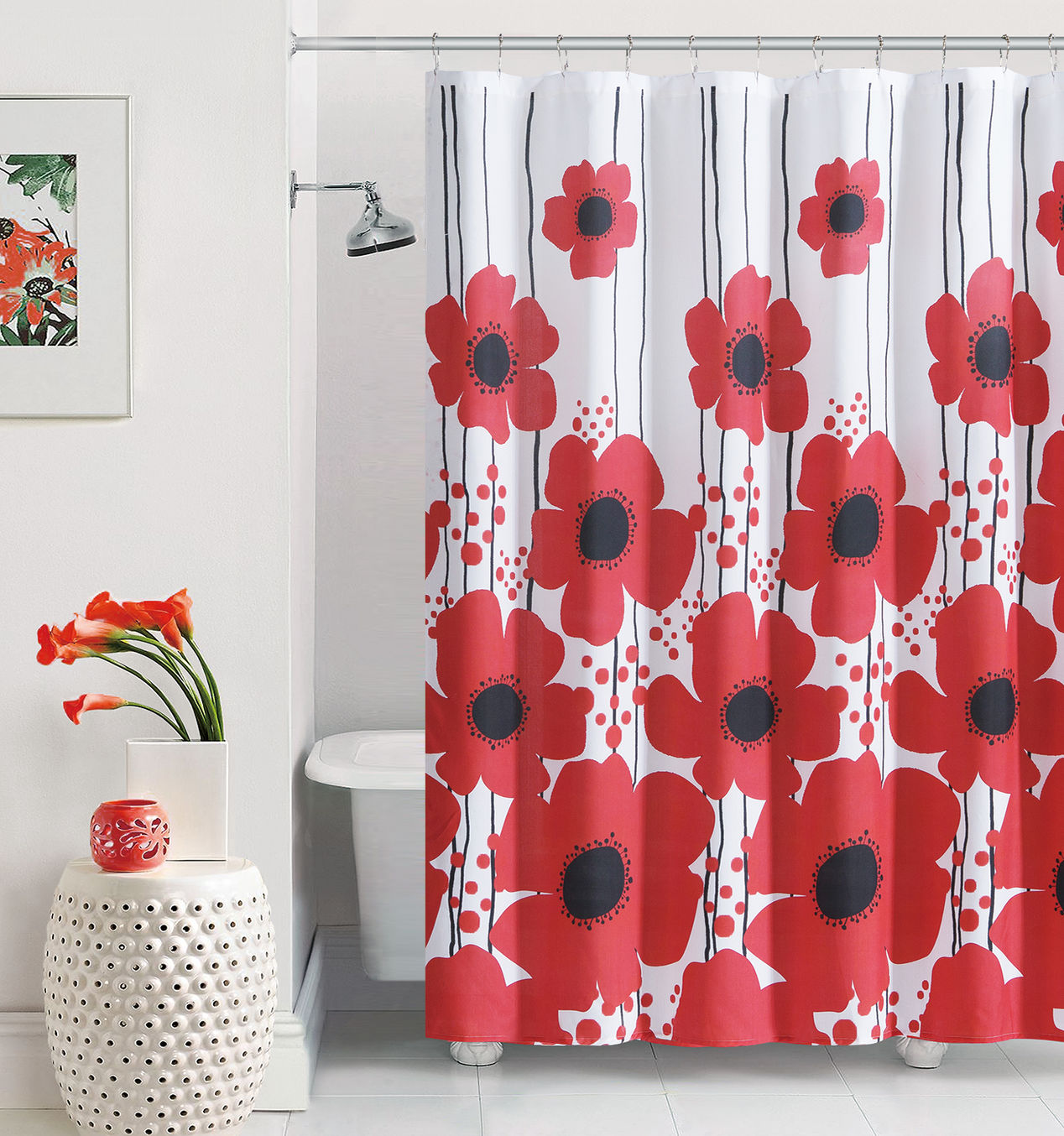 flower-red-shower-curtain