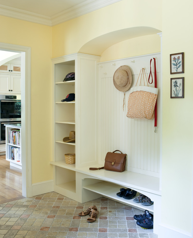 good-looking-hall-tree-storage-bench-trend-boston-traditional-entry-inspiration-with-arched-alcove-bead-board-beadboard-built-in-storage-coathooks-crown-molding-cubbies-mudroom-storage