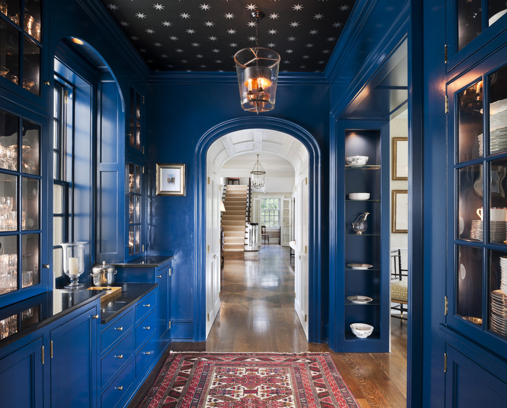 hallway-ideas-ikea-hall-traditional-with-blue-butlers-pantry-star-ceiling-star-wallpaper-wallpaper-ceiling-6