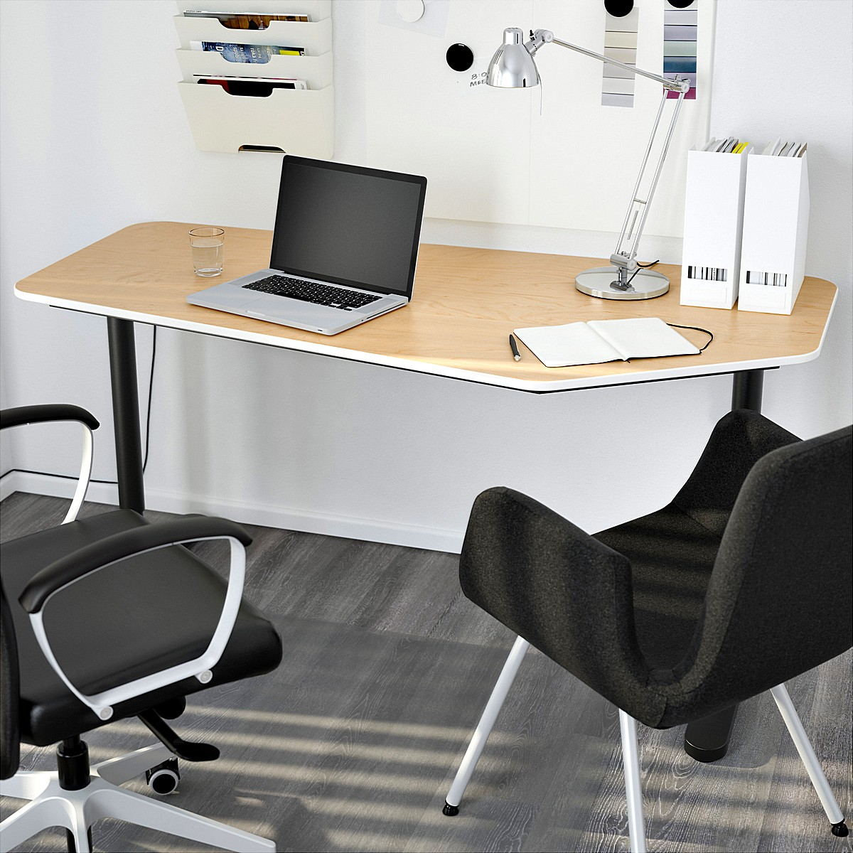 ikea-bekant-5-sided-desk-for-office