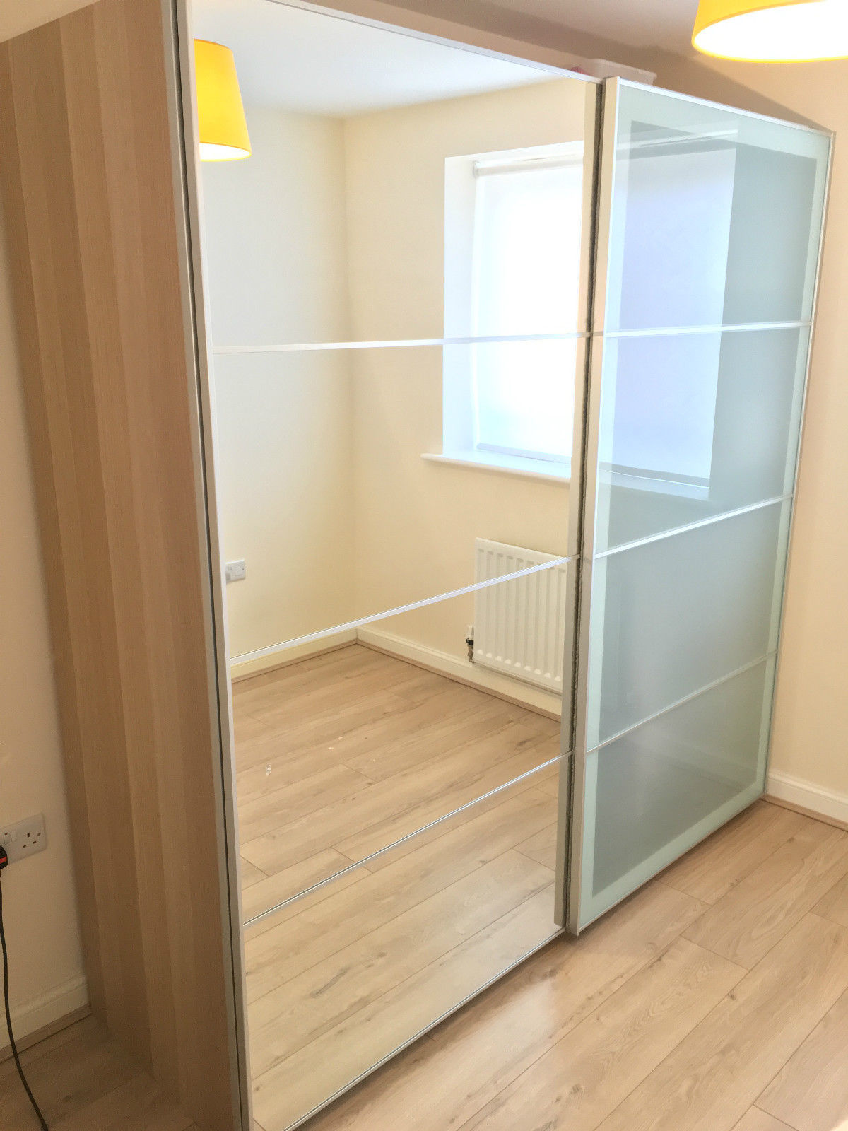 ikea-pax-double-wardrobe-with-mirror-sliding-doors