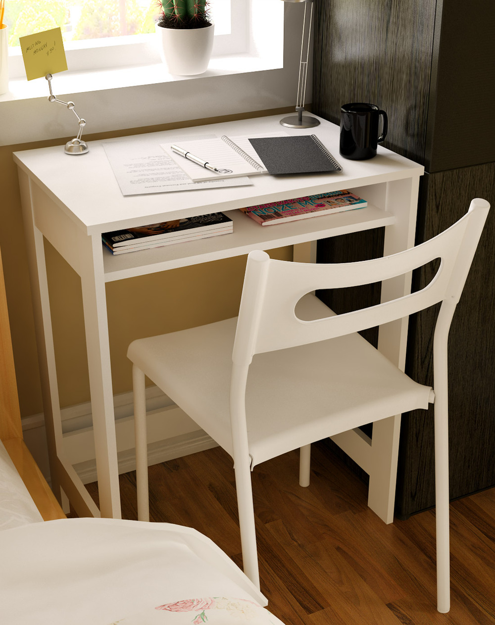 ikea-children-s-creative-minimalist-desk-computer-desk-simple-desk-study-table-a-small-desk-environmental