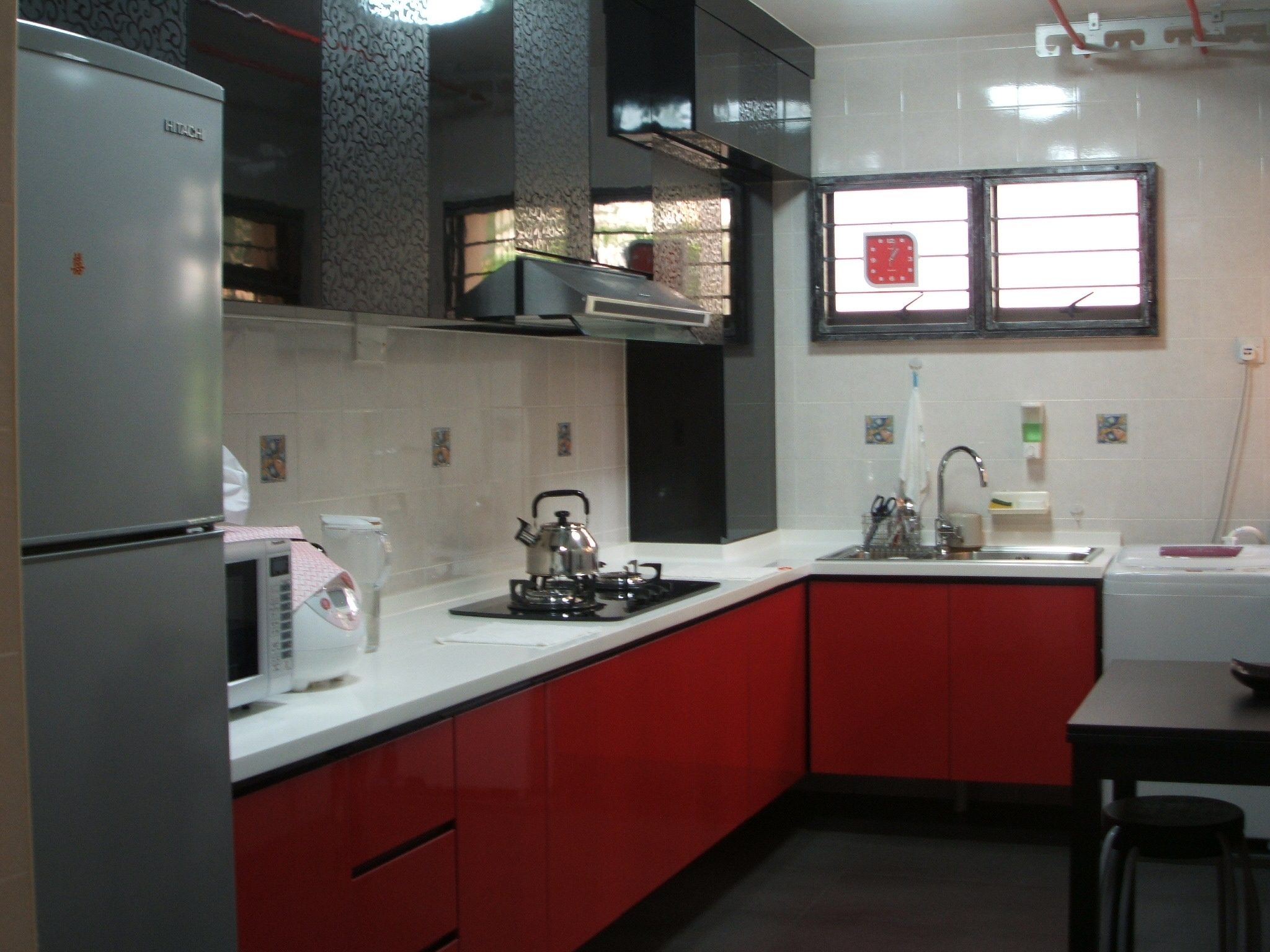 ideas-new-red-kitchen-furniture-for-home-decorating