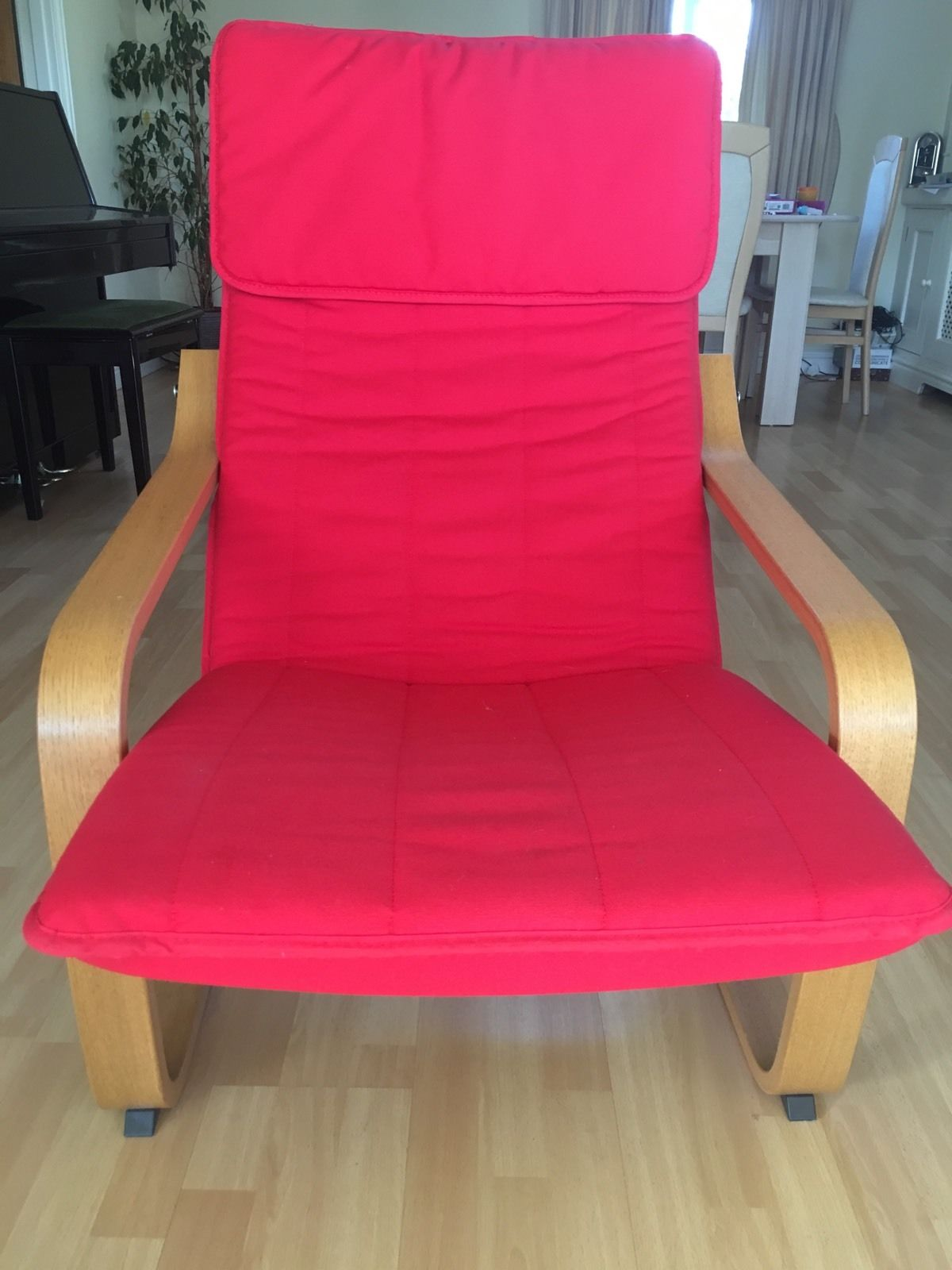 ikea-poang-red-easy-lounge-chair-armchair