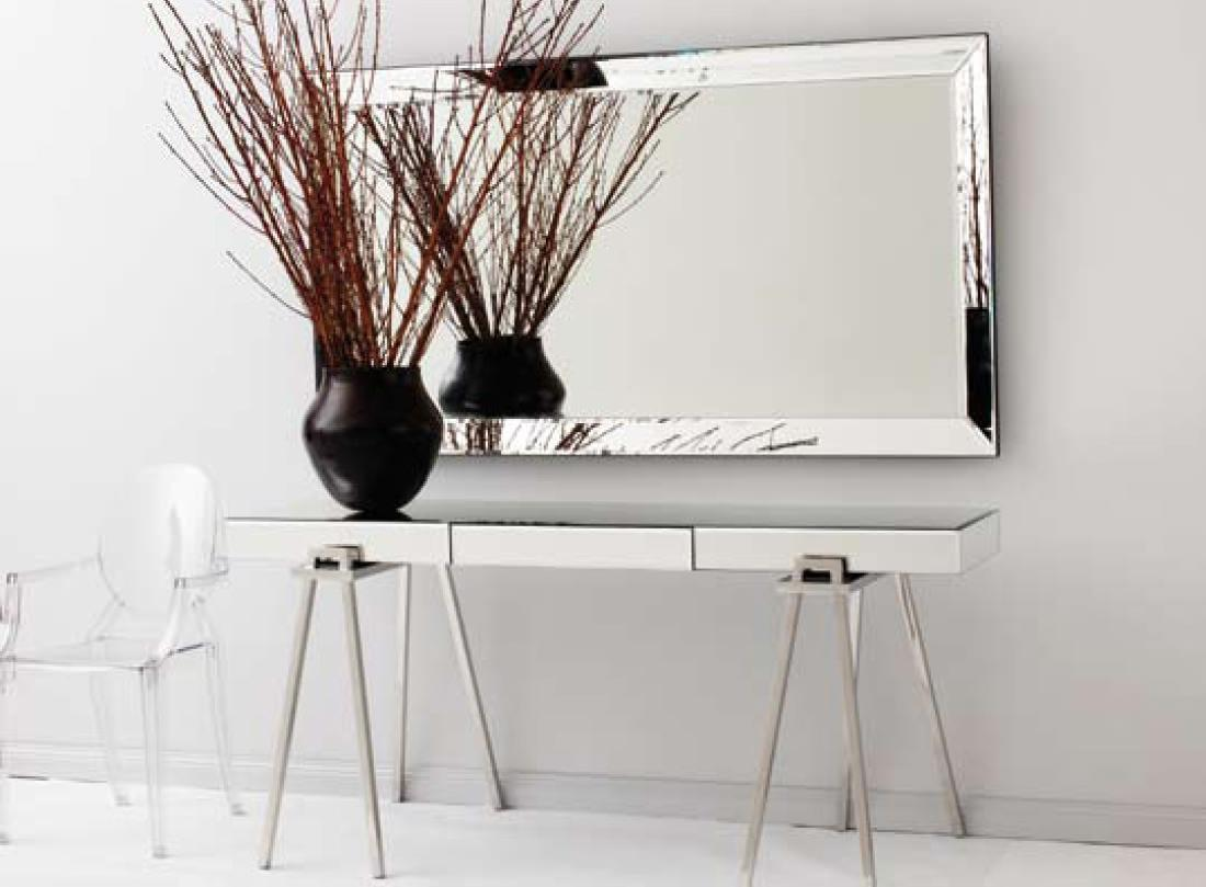 mirrored-entryway-console-table