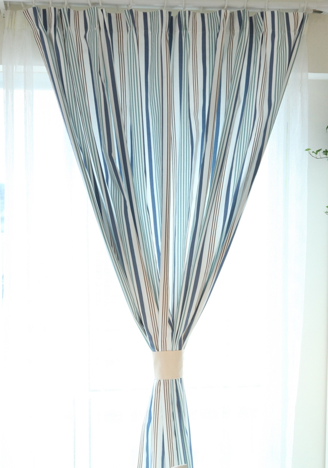nautical-style-striped-blue-cotton-linen-blend-thermal-curtains-two-panels-c0238-04