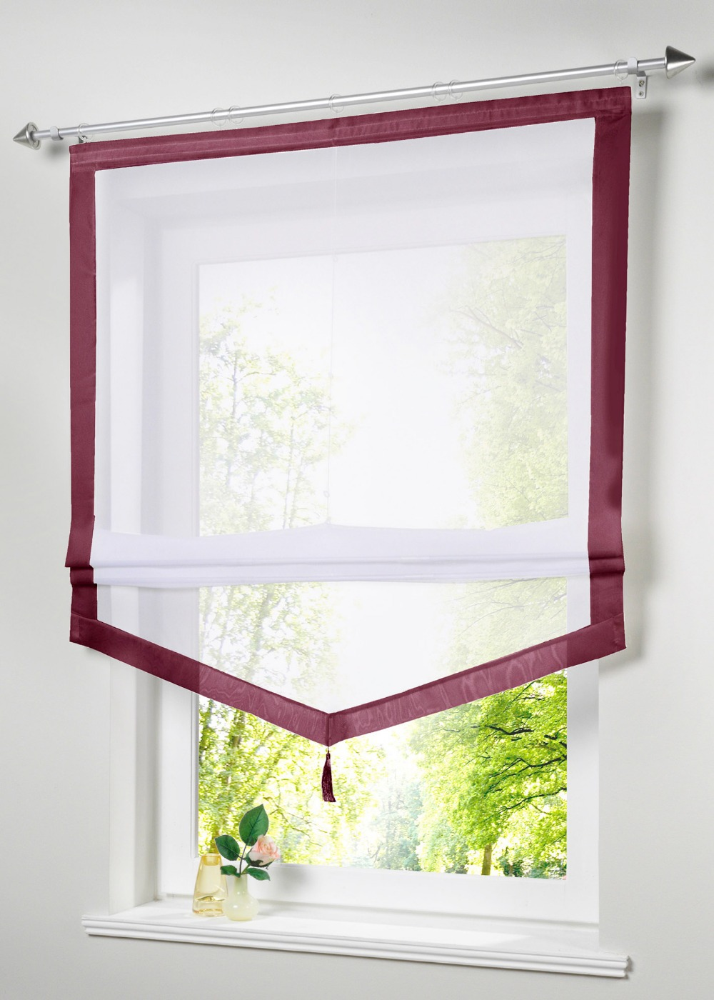 new-uk-popular-stitching-colors-kitchen-balcony-voile-blinds-sheer-organza-roman-curtain-1pc