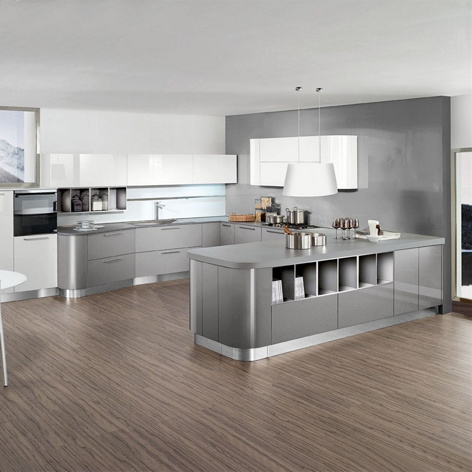 pale-gray-kitchen-cabinets