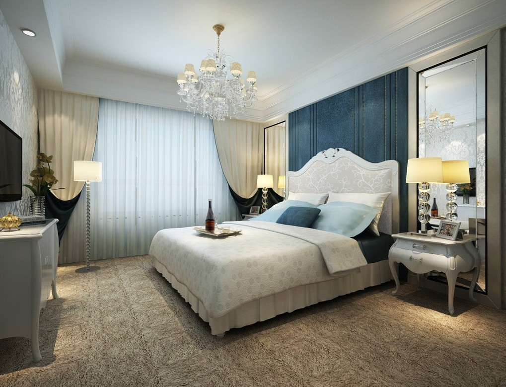 pale-blue-style-bedroom-interior-design-3d