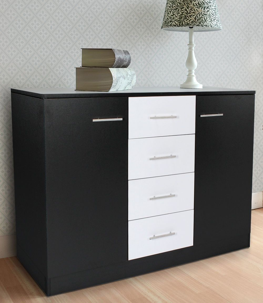 san-marino-2-door-4-drawer-sideboard-black