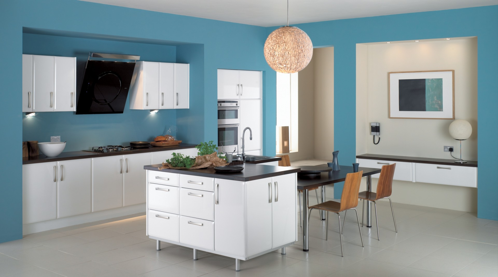 small-kitchen-light-blue-paint-colors-ideas