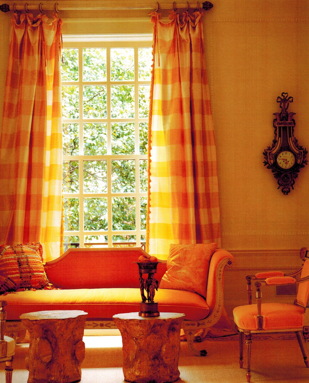 solid-yellow-kitchen-curtains