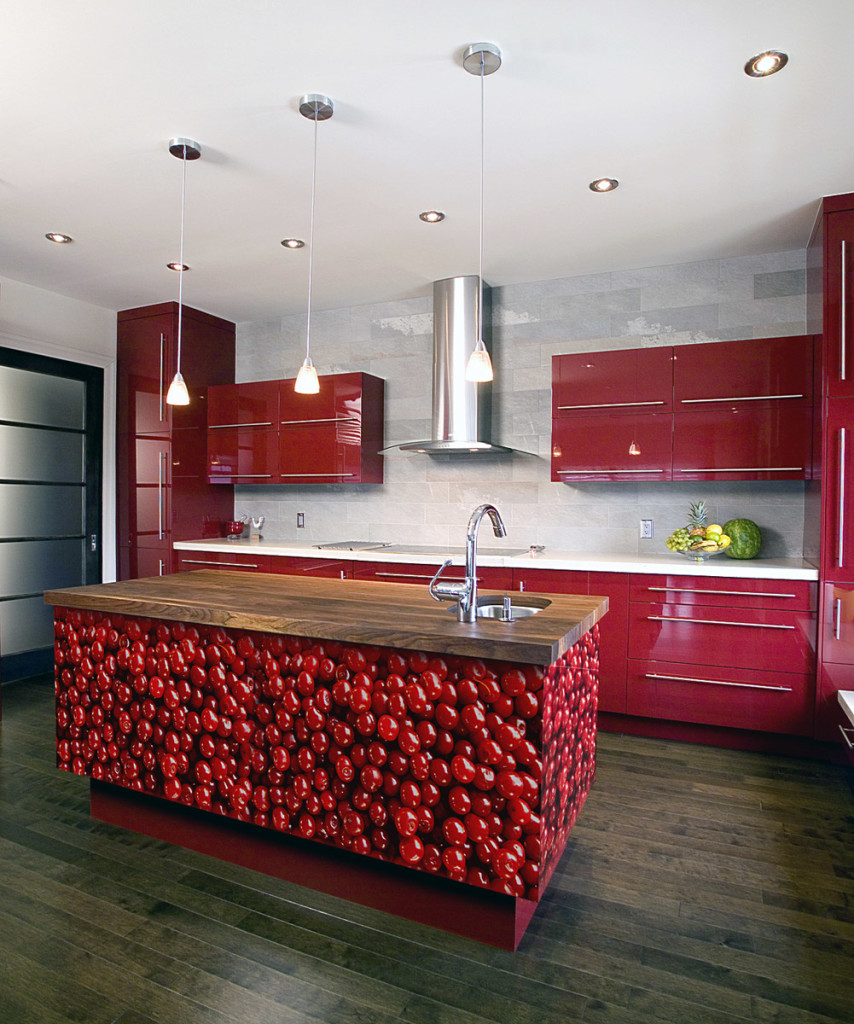 amazing-red-kitchen-interior-contemporary-design-inspiration-ideas-with-chic-kitchen-countertop-have-red-kitchens