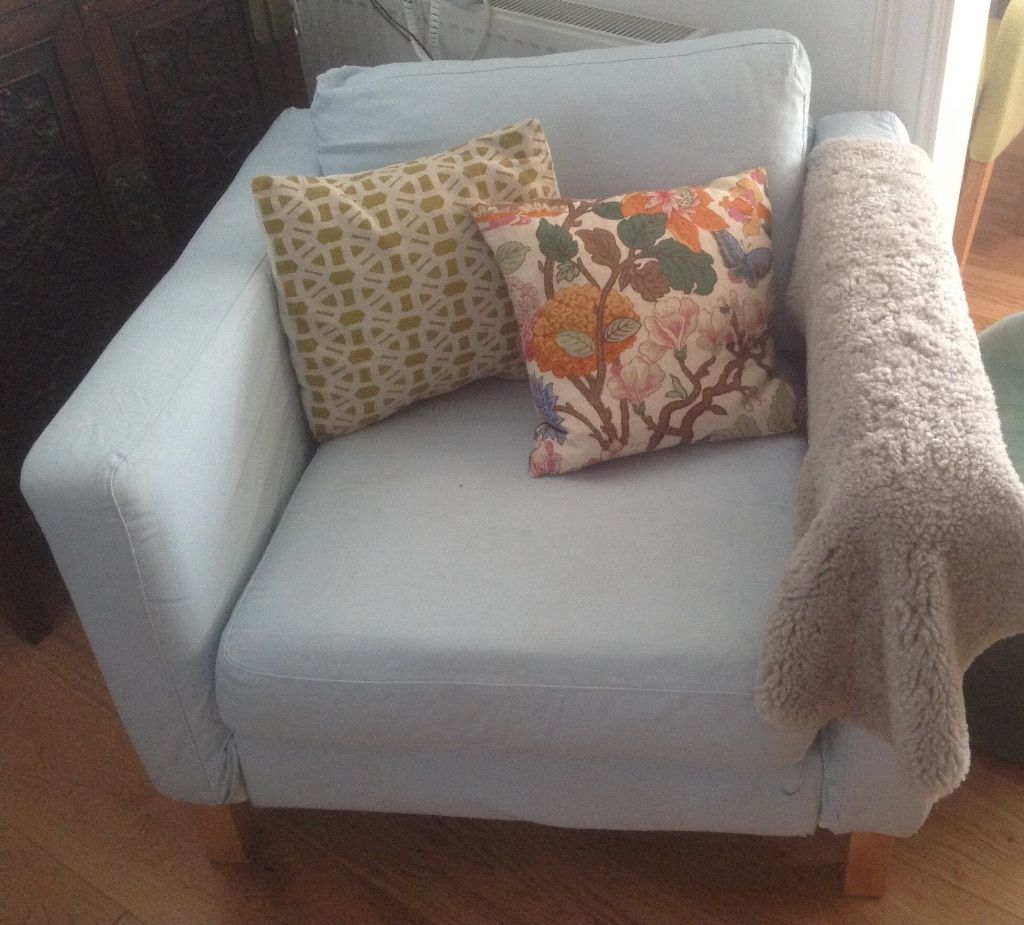 armchair-ikea-karlstad-removable-pale-blue-covers-arm