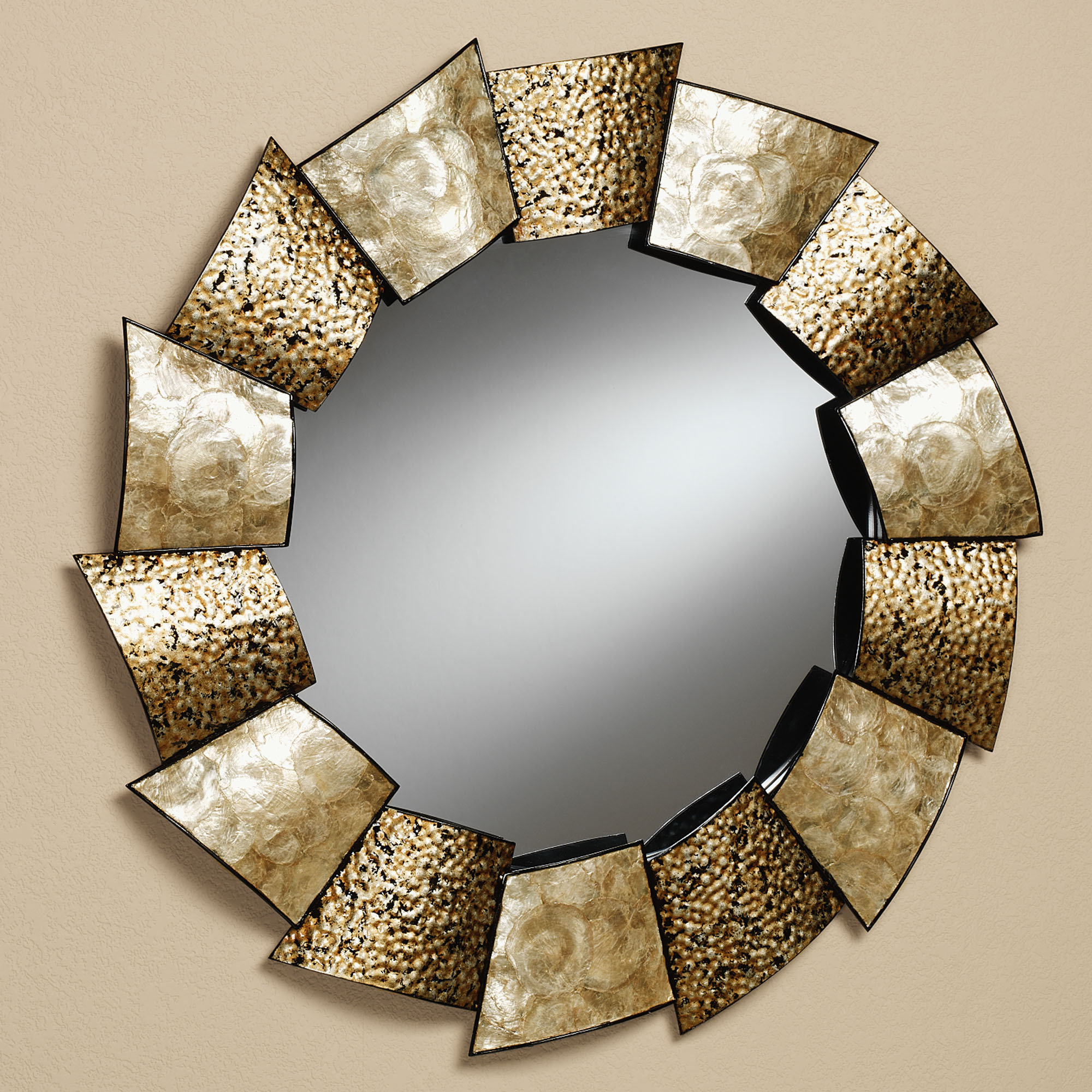 astonishing-cool-full-length-decorative-ikea-round-wall-mirror-with-unique-light-brown-edge-frames-for-living-room-ideas-with-mirror-living-room-and-large-decorative-wall-mirrors