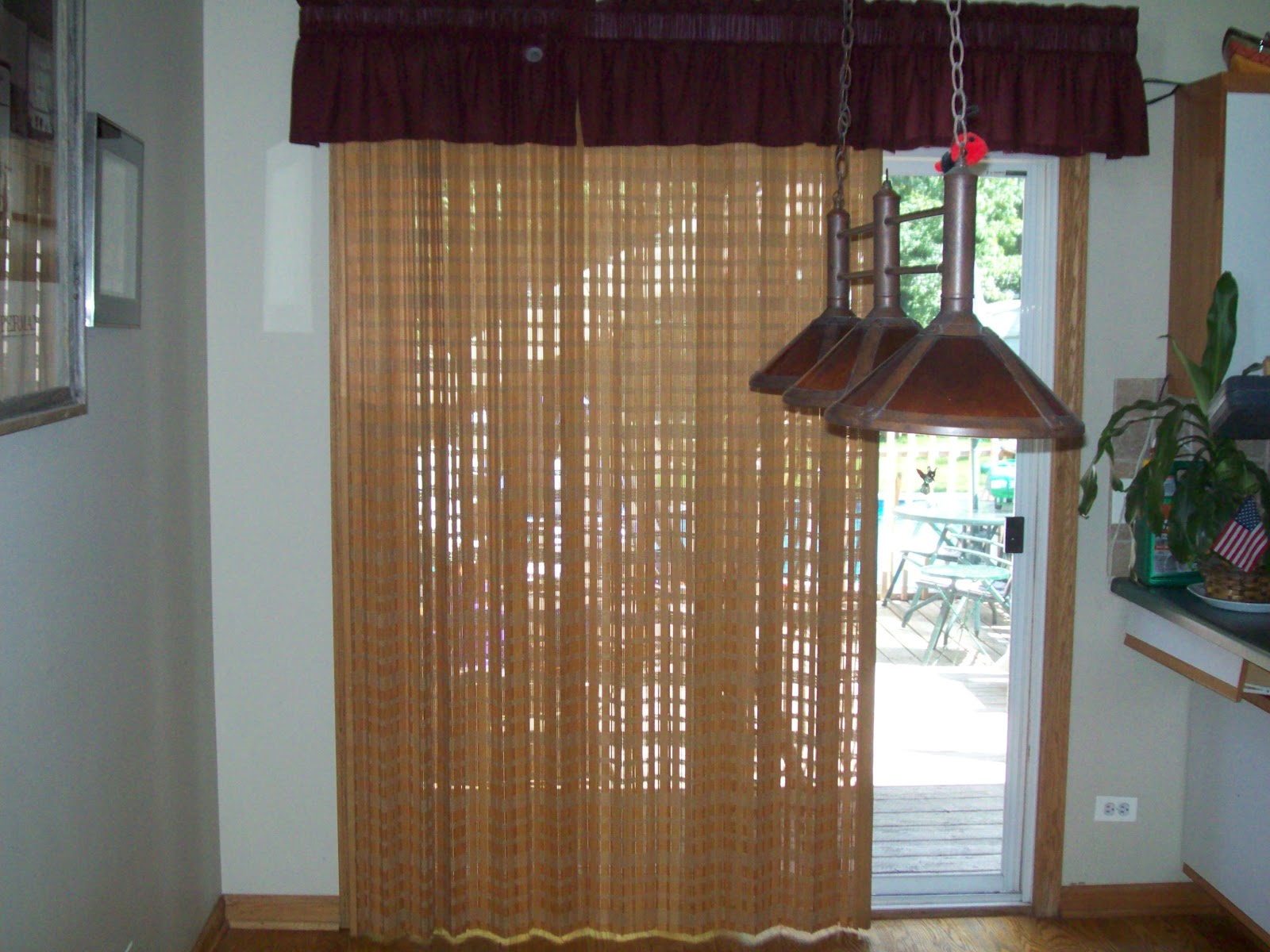 brown-curtains-sliding-glass-doors-inspiration-on-large-size-with-dark-balloon-shade