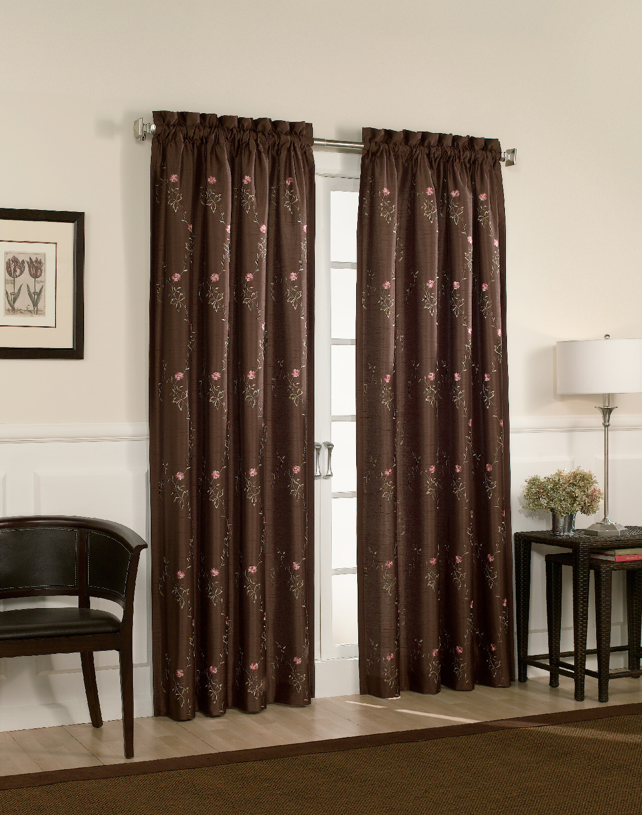 brown-with-dot-design-curtain-panels-for-contemporary-interior-furniture-decor-idea-beautiful-curtain-panels-for-your-interior-furniture-decor-idea-jcpenney-curtains-curtain-panel-sidelight
