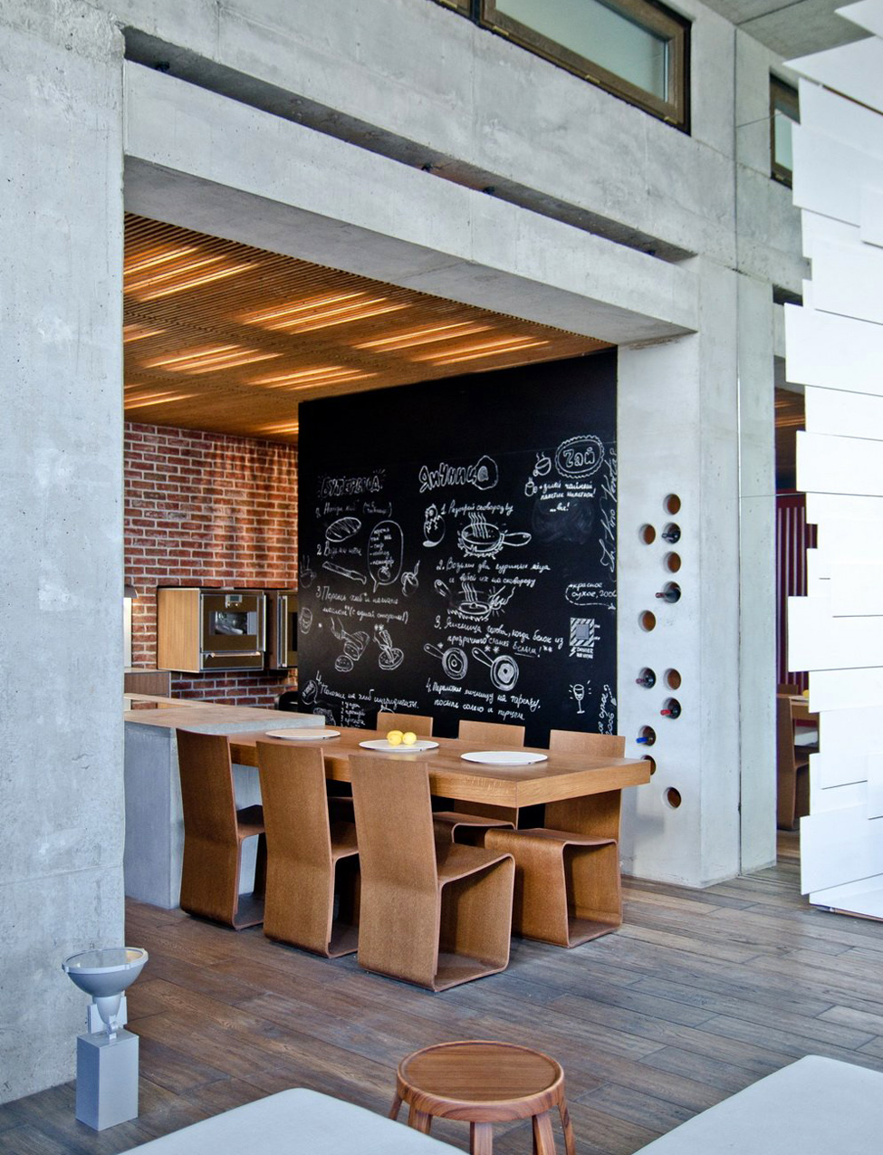 chalkboard-feature-wall-kitchen
