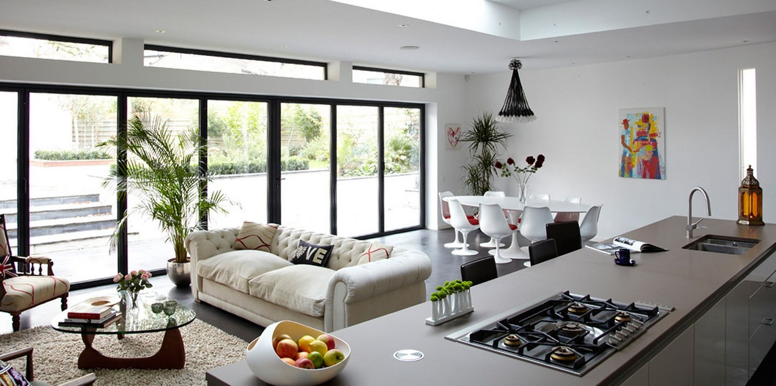 combining-kitchen-and-living-room-interior-decorating