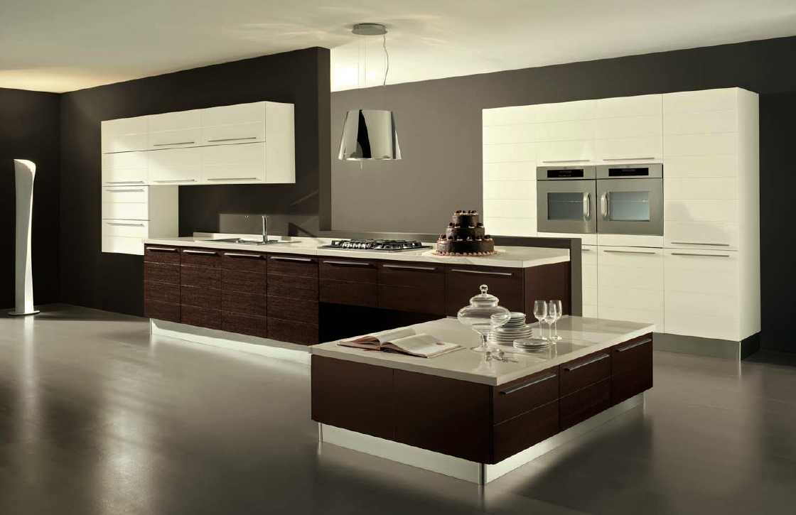 cool-contemporary-kitchen-design-visualized-with-modern-two-tones-furniture-colors-and-stainless-steel-lamp