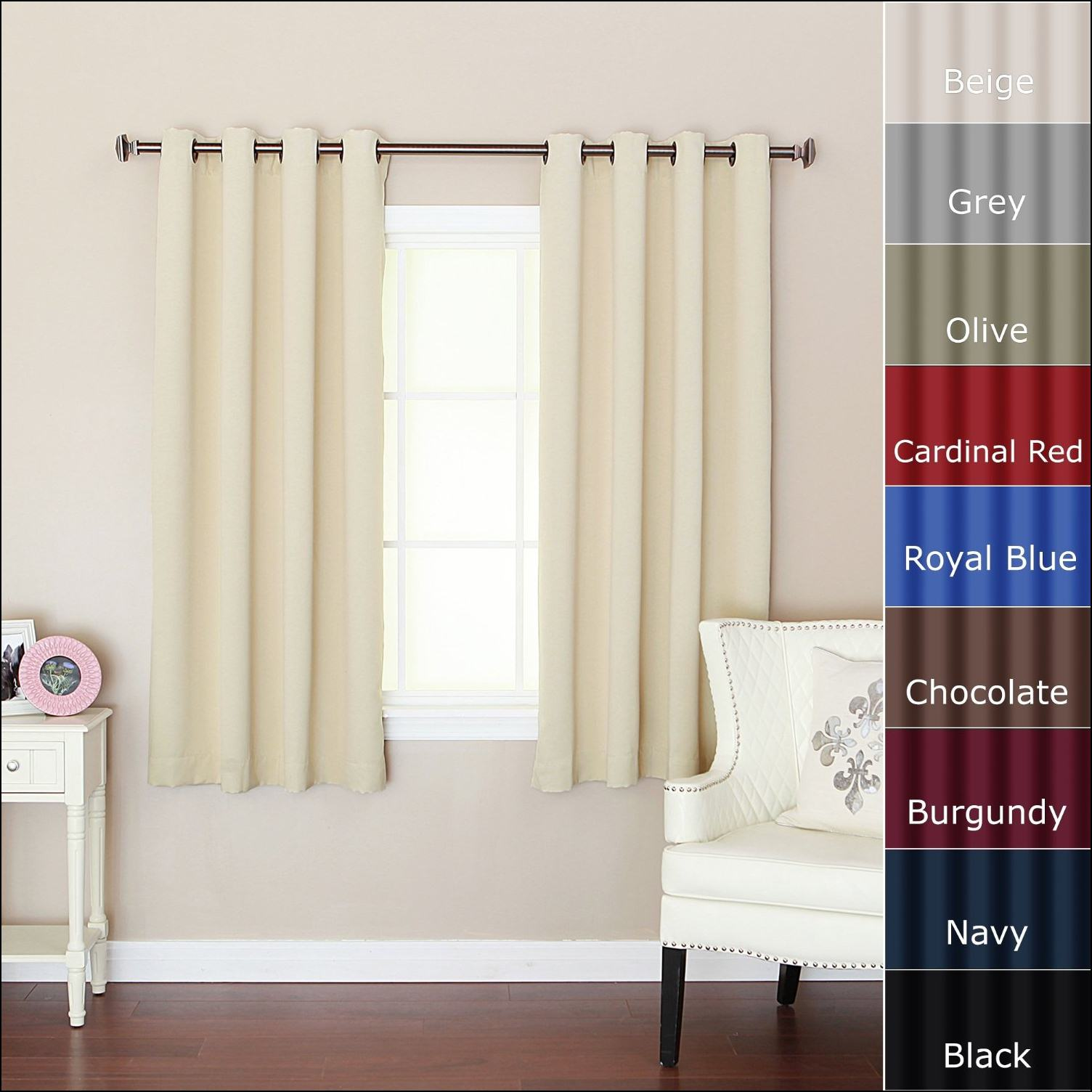 cool-design-ideas-of-window-curtain-with-beige-color-curtains-and-combine-with-silver-color-metal-rod-as-well-as-curtain-rod-also-panel-curtains