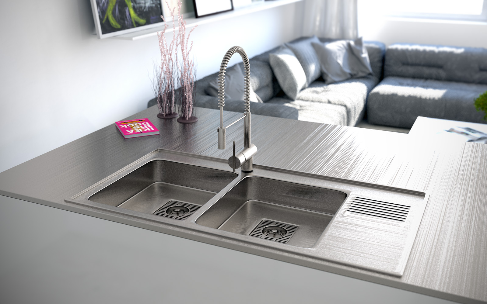 double-kitchen-sink